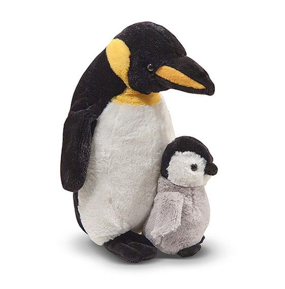 Мягкая игрушка - Пингвин и малышДикие животные<br>Мягкая игрушка - Пингвин и малыш<br>