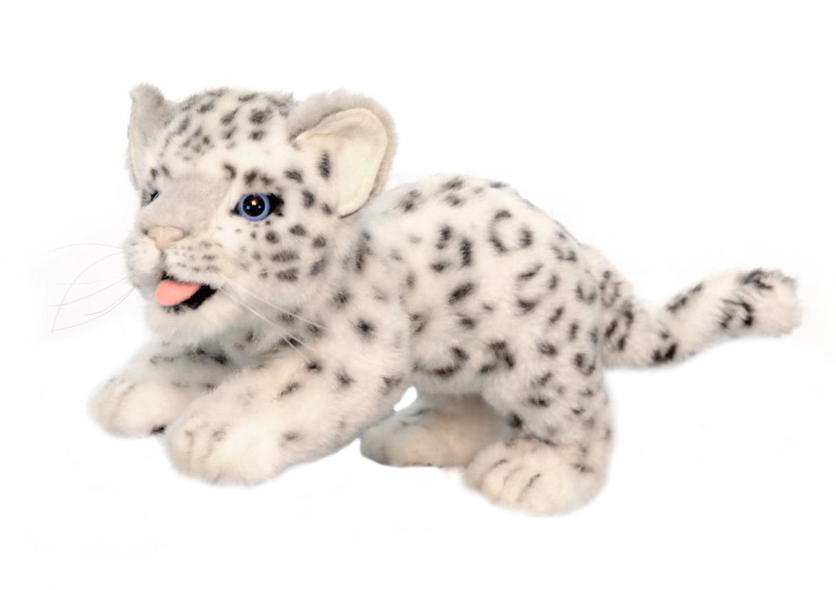 Мягкая игрушка - Детеныш снежного барса, 30 см.Дикие животные<br>Мягкая игрушка - Детеныш снежного барса, 30 см.<br>