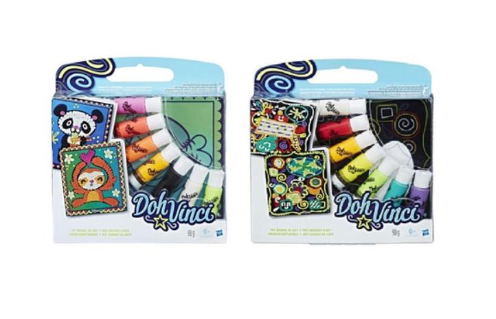 Набор для творчества из серии Dohvinci - Арт-Трафареты ДавинчиПластилин Doh-Vinci от Play-Doh<br>Набор для творчества из серии Dohvinci - Арт-Трафареты Давинчи<br>