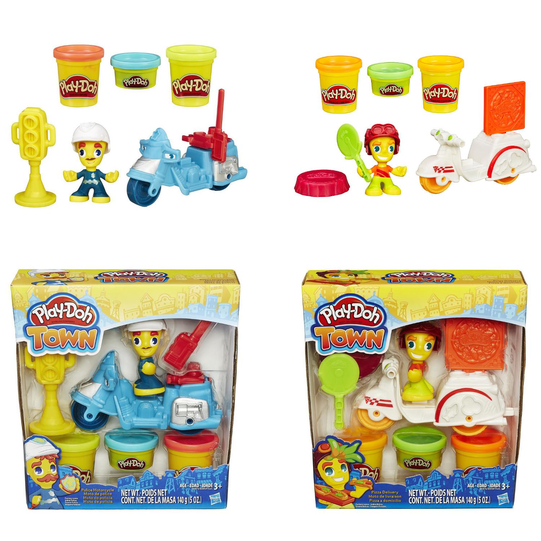 Play-Doh. Игровой набор «Транспортные средства» из серии Город - Пластилин Play-Doh, артикул: 135200