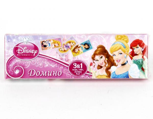 Домино Дисней. Принцессы 3-в1Скидки до 70%<br>Домино Дисней. Принцессы 3-в1<br>