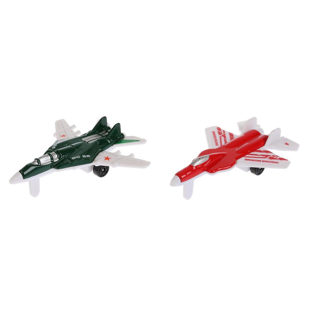 Купить Набор из двух металлических моделей – Самолеты, 9 см, Технопарк