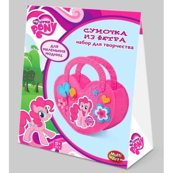 Набор для творчества - My Little Pony - Сделай сумочку из фетраМоя маленькая пони (My Little Pony)<br>Набор для творчества - My Little Pony - Сделай сумочку из фетра<br>