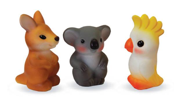 Купить Набор фигурок из пластизоля – Австралия, пвх, Огонек