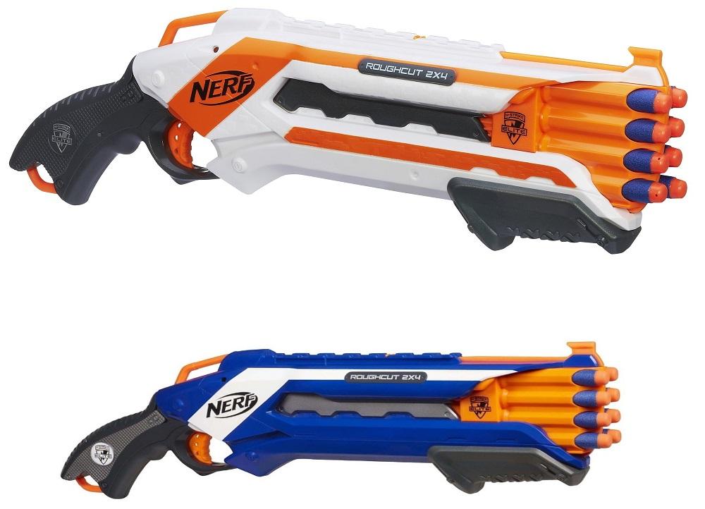 Купить Бластер Элит Рафкат Нерф Nerf N-Strike Elite Rough Cut 2X4 Blaster, Hasbro