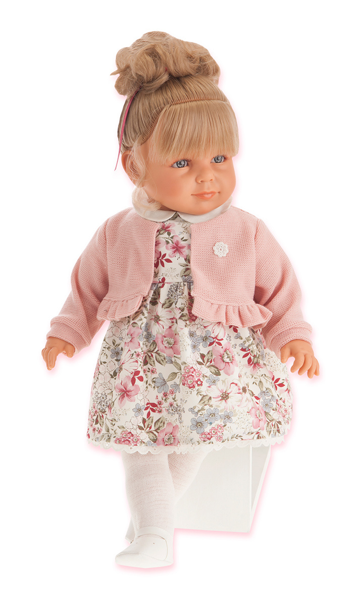 Кукла Нина в розовом, 55 смКуклы Антонио Хуан (Antonio Juan Munecas)<br>Кукла Нина в розовом, 55 см<br>