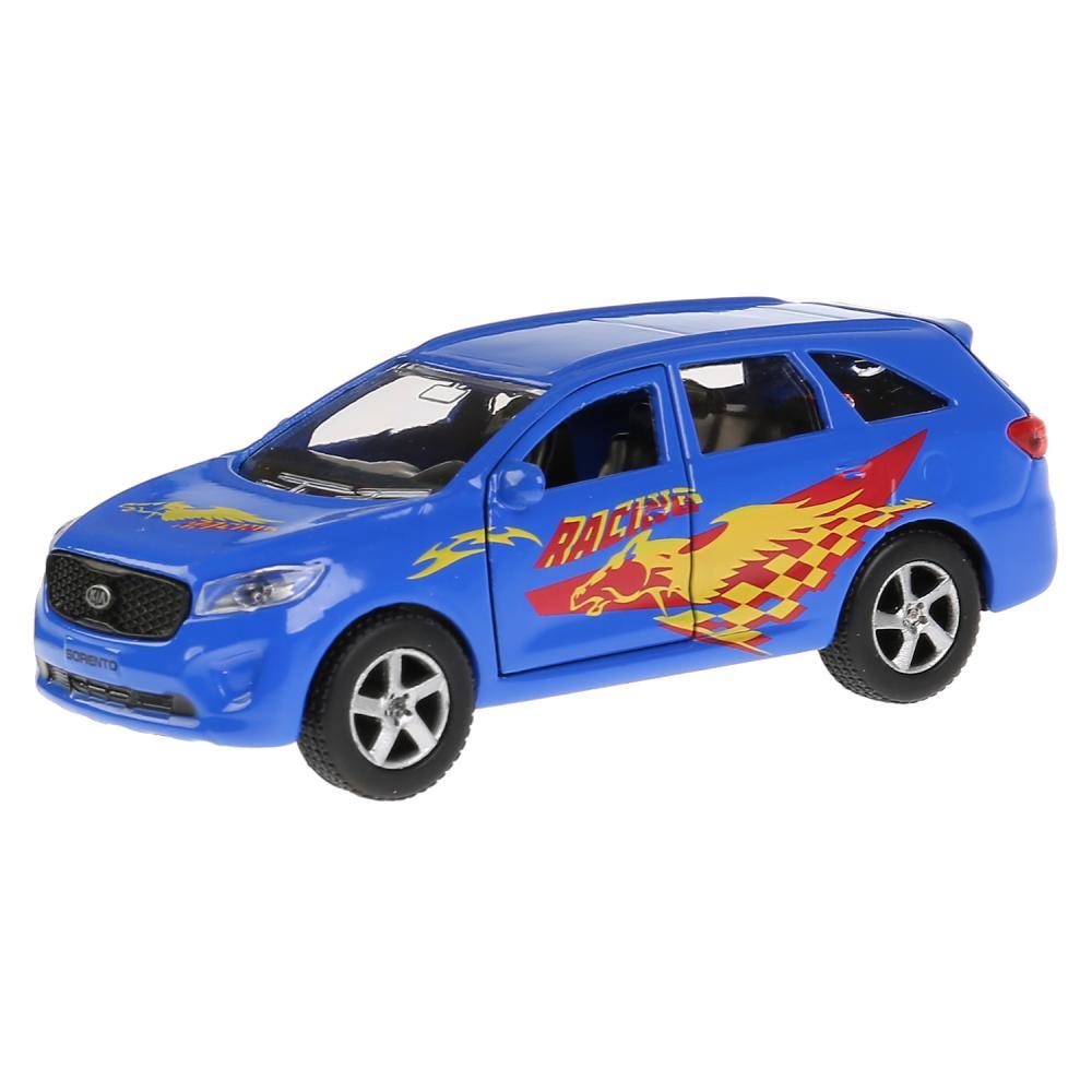 Купить Инерционная металлическая машина Kia Sorento Prime – Спорт, 12 см, открываются двери, Технопарк