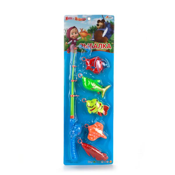 Игра «Рыбалка» Маша и МедведьДля самых маленьких<br>Игра «Рыбалка» Маша и Медведь<br>