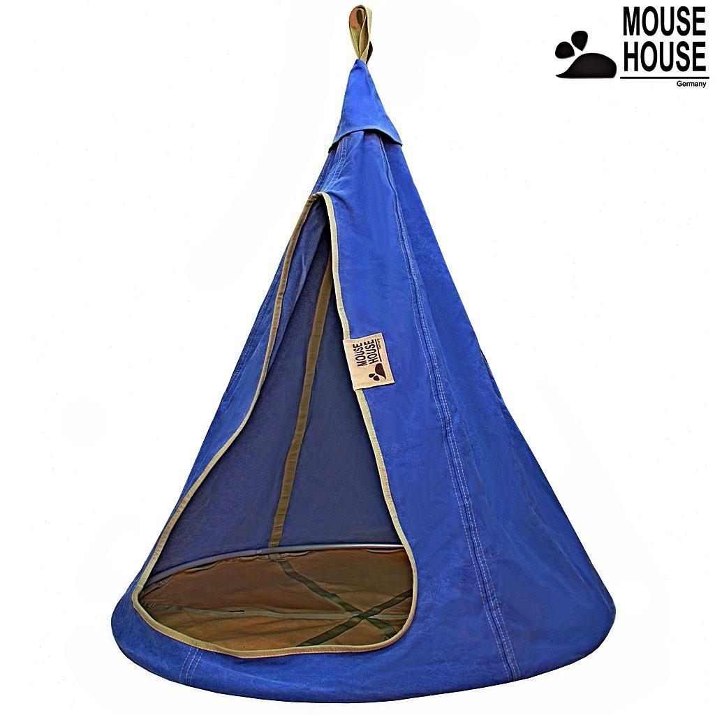 140-07 Гамак Mouse House - Джинс темный, диаметр 140 смДомики-палатки<br>140-07 Гамак Mouse House - Джинс темный, диаметр 140 см<br>