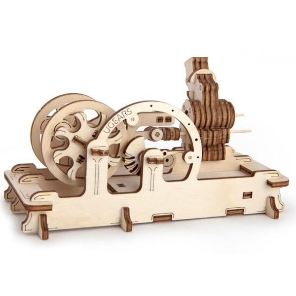 Пневматический двигательДеревянный конструктор<br>Пневматический двигатель<br>