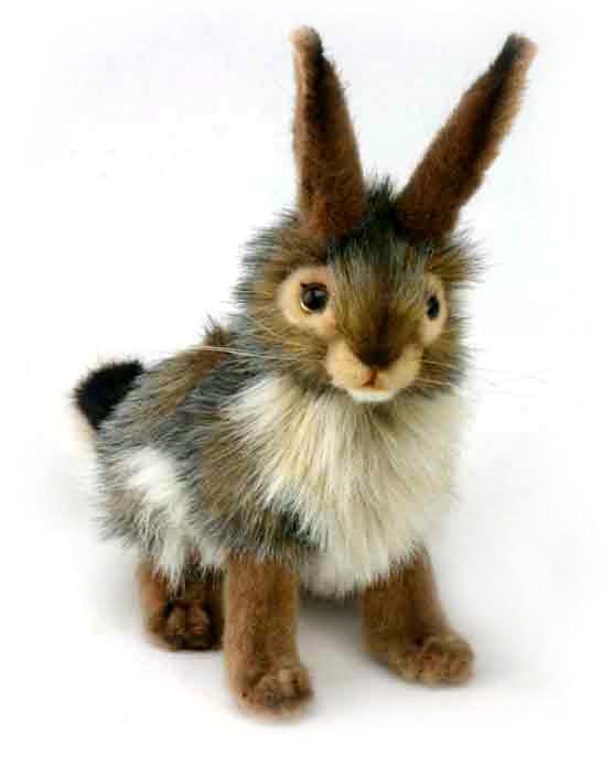 Чернохвостый заяц, 23 смДикие животные<br>Чернохвостый заяц, 23 см<br>
