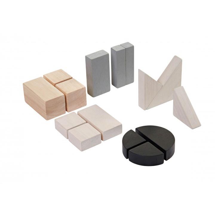 Деревянный конструктор - Блоки. ГеометрияКубики<br>Деревянный конструктор - Блоки. Геометрия<br>