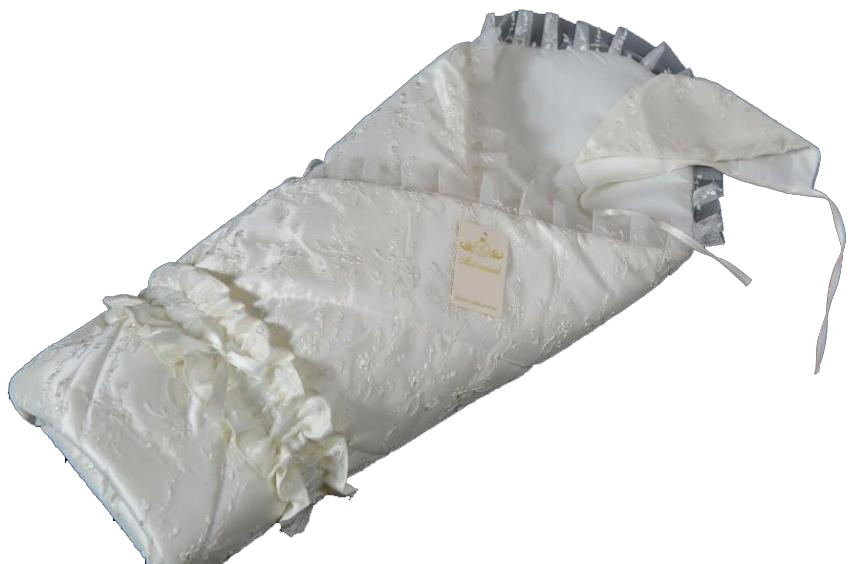 Купить Конверт - одеяло на выписку из серии Золотце, сезон лето, цвет шампань, Мой Ангелок