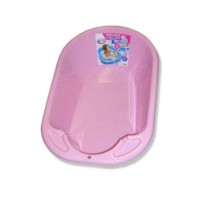 Ванночка детская Дельфин, 84 см., розовая