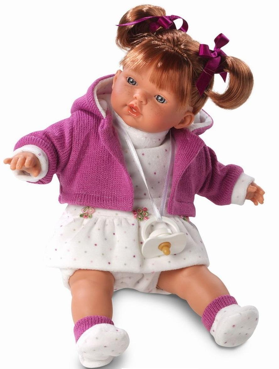 Кукла Алиса 33 см., со звукомИспанские куклы Llorens Juan, S.L.<br>Кукла Алиса 33 см., со звуком<br>
