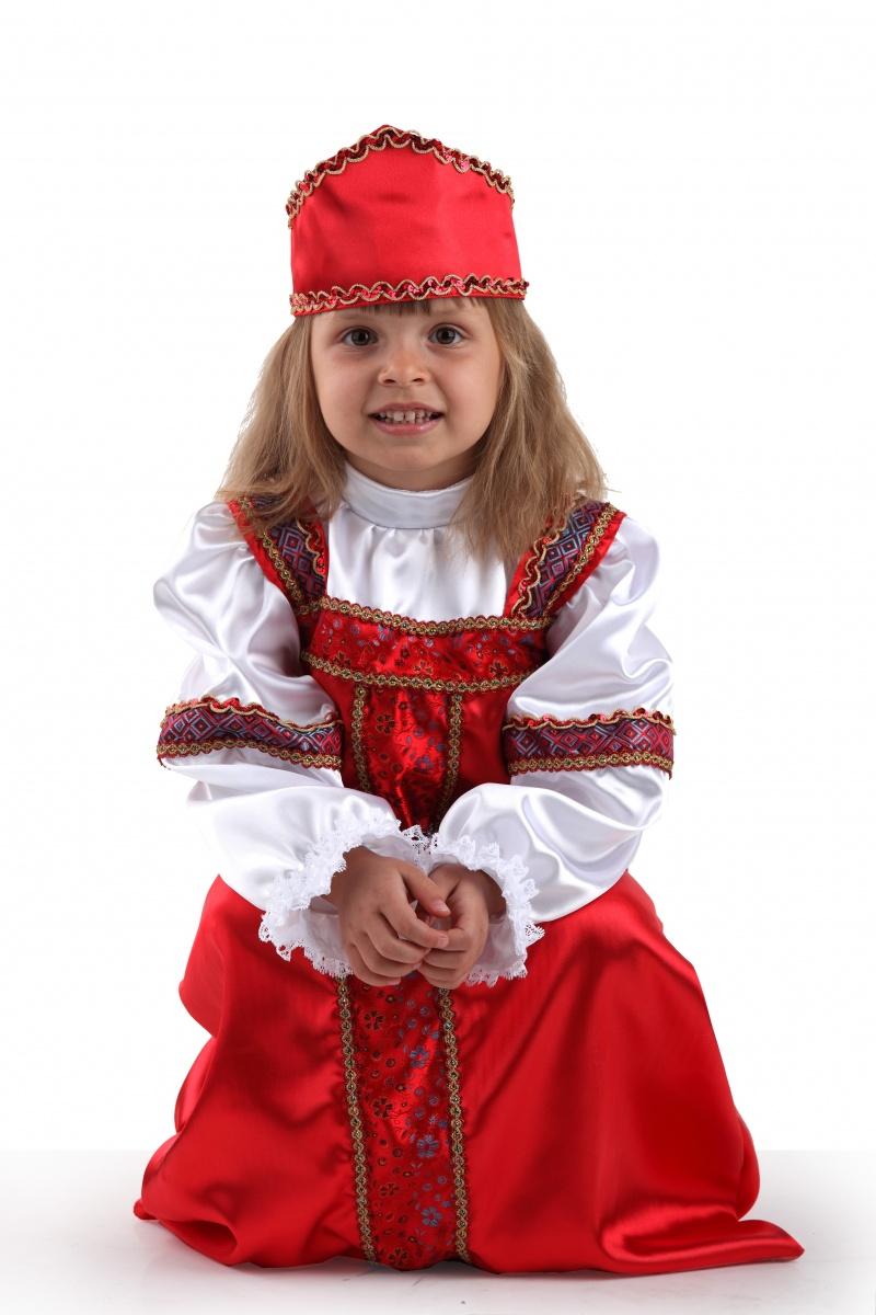 Карнавальный костюм для девочек - Марья-искусница, размер 110-56