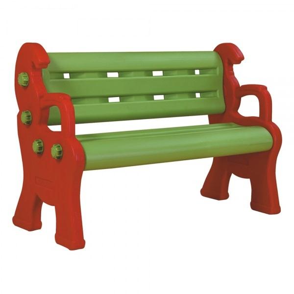 Детская пластиковая скамейка Королевская