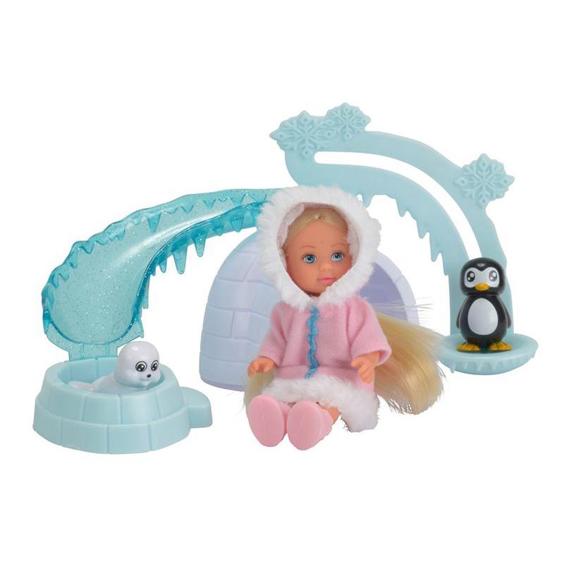 Кукла Еви на северном полюсе, 12 см.Куклы Еви<br>Кукла Еви на северном полюсе, 12 см.<br>