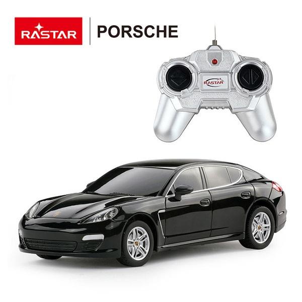 картинка Машина р/у 1:24 - Porsche Panamera, цвет черный от магазина Bebikam.ru