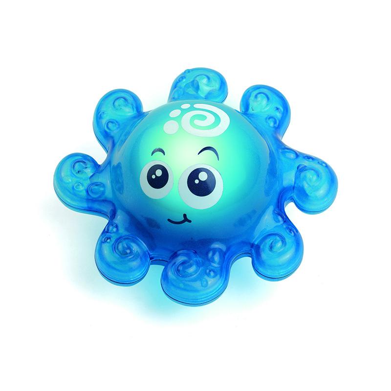 Игрушка для ванной со световым эффектом – ОсьминожекИгрушки для ванной<br>Игрушка для ванной со световым эффектом – Осьминожек<br>