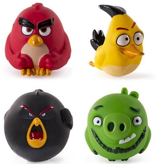 Игрушка из серии «Angry Birds» - набор из 4 сердитых птичек от Toyway