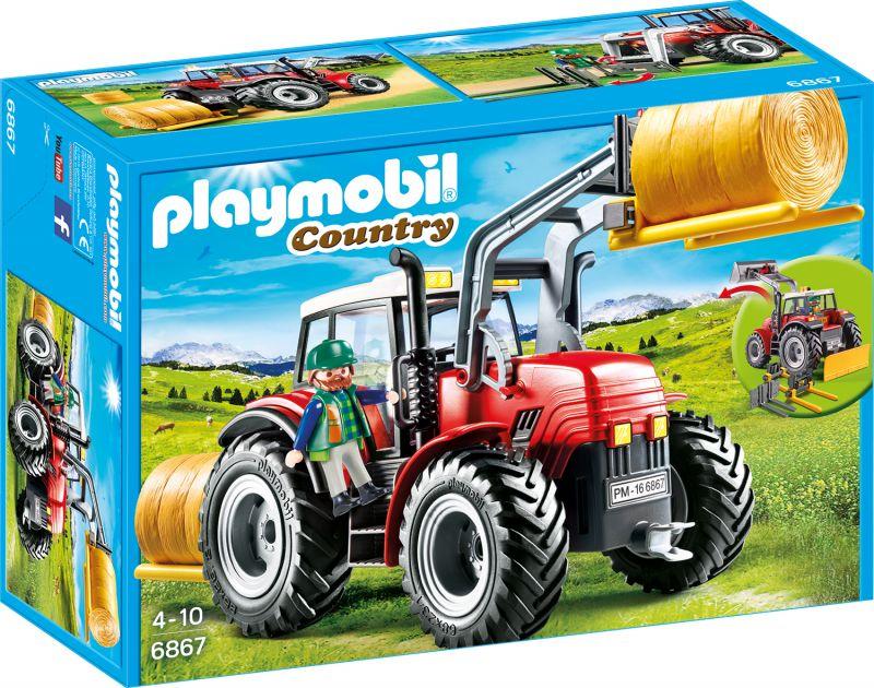 Купить Игровой набор из серии Ферма: Большой трактор, Playmobil