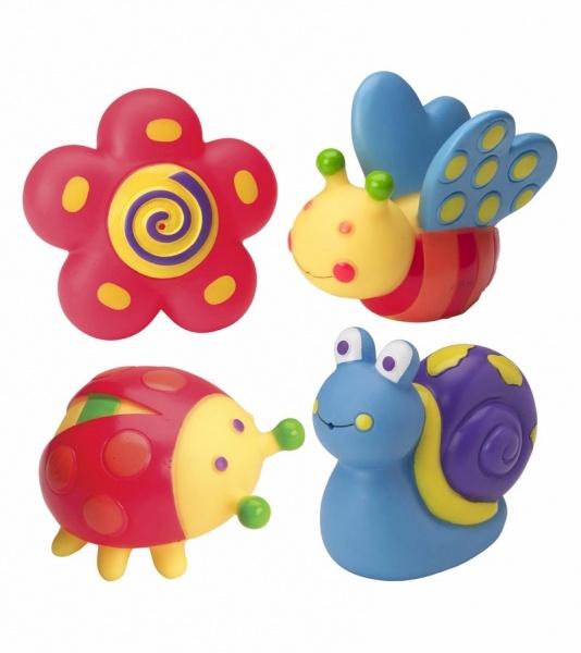 Игрушки для ванны СадРезиновые игрушки<br>Игрушки для ванны Сад<br>
