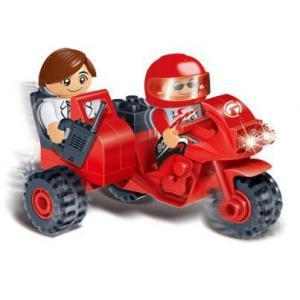 Игровой конструктор - Трёхколёсный мотоциклКонструкторы BANBAO<br>Игровой конструктор - Трёхколёсный мотоцикл<br>