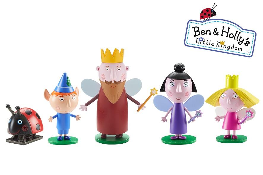 Игровой набор – 5 фигурок из серии Маленькое королевство Бена и Холли - Маленькое королевство Бена и Холли, артикул: 142840