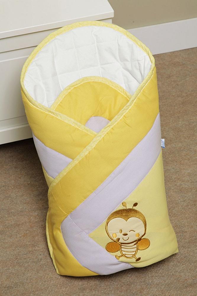 Конверт Layette BEE - желтыйДемисезонные конверты для новорожденных<br>Конверт Layette BEE - желтый<br>