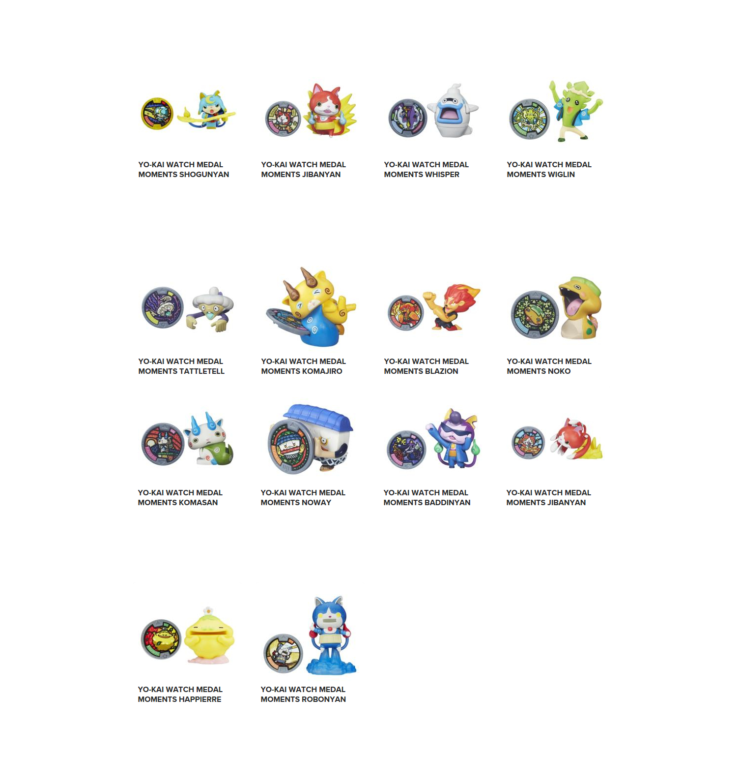 Фигурка с медалью из серии Yokai WatchЙо-Кай Вотч (Yokai Watch)<br>Фигурка с медалью из серии Yokai Watch<br>