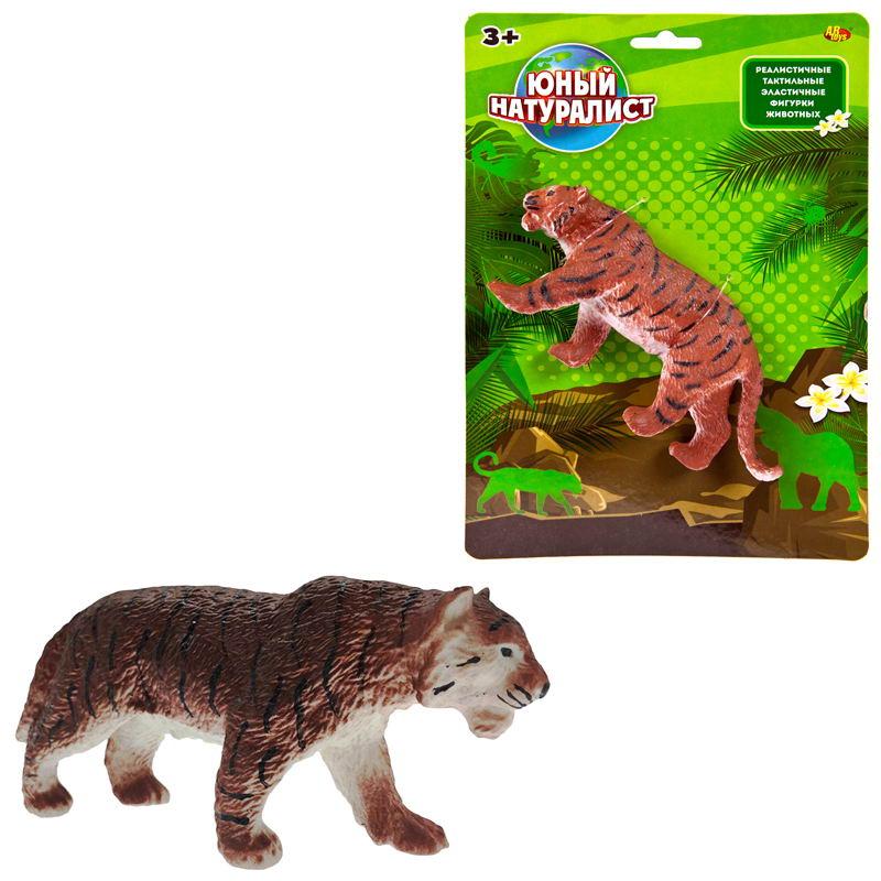 Юный натуралист. Животные - Тигр, термопластичная резина фото