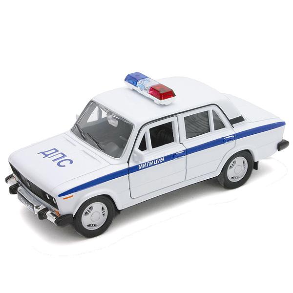 Модель машины Lada 2106 Милиция ДПСПолицейские машины<br>Модель машины Lada 2106 Милиция ДПС<br>