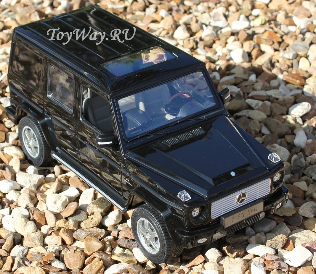 Mersedes G55 AMG на радиоуправлении, 30 см.Машины на р/у<br>Машинка на радиоуправлении: Rastar Mersedes G55 AMG в масштабе 1:14<br>