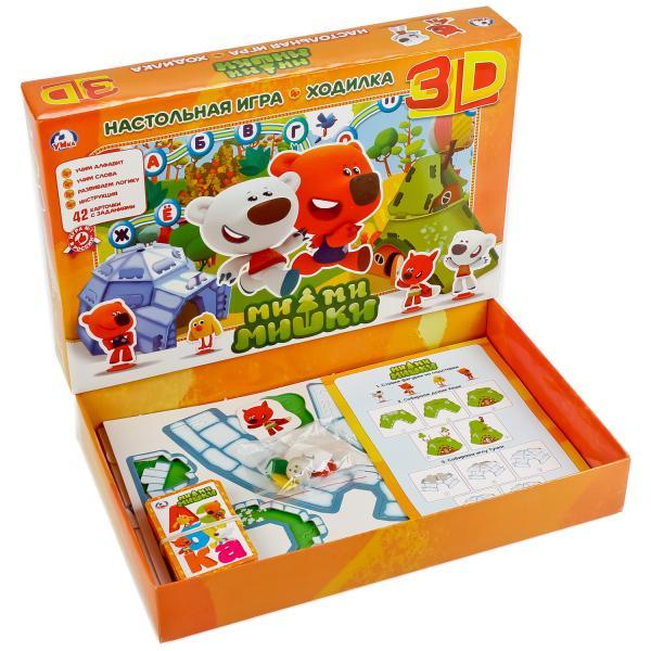 Настольная 3D игра-ходилка - Ми-Ми-Мишки