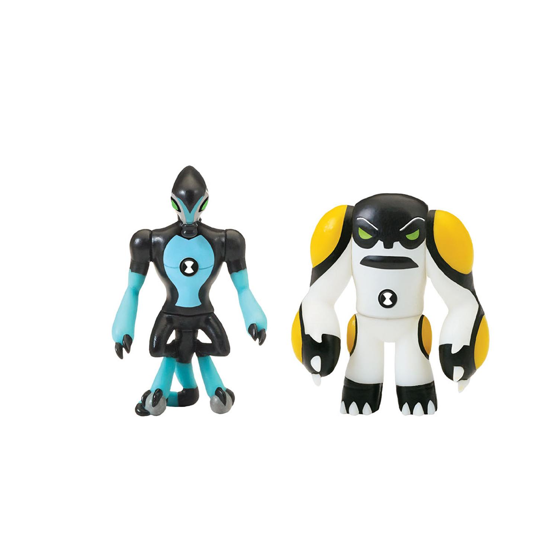 Купить Набор из 2 разборных фигурок и ключа Ben 10 - Молния и Ядро, Playmates