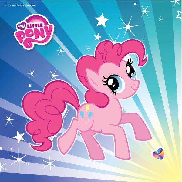 Набор из 12 салфеток – My little ponyMy Little Pony<br>Набор из 12 салфеток – My little pony<br>