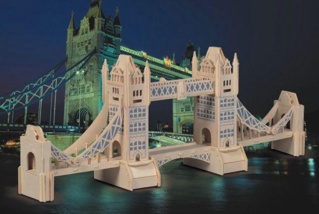 Сборная деревянная модель  Башенный мост - Пазлы, артикул: 84187