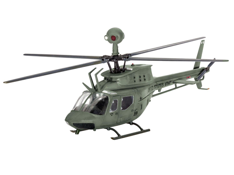 Сборная модель - Вертолет Bell OH-58D - KiowaМодели вертолетов для склеивания<br>Сборная модель - Вертолет Bell OH-58D - Kiowa<br>