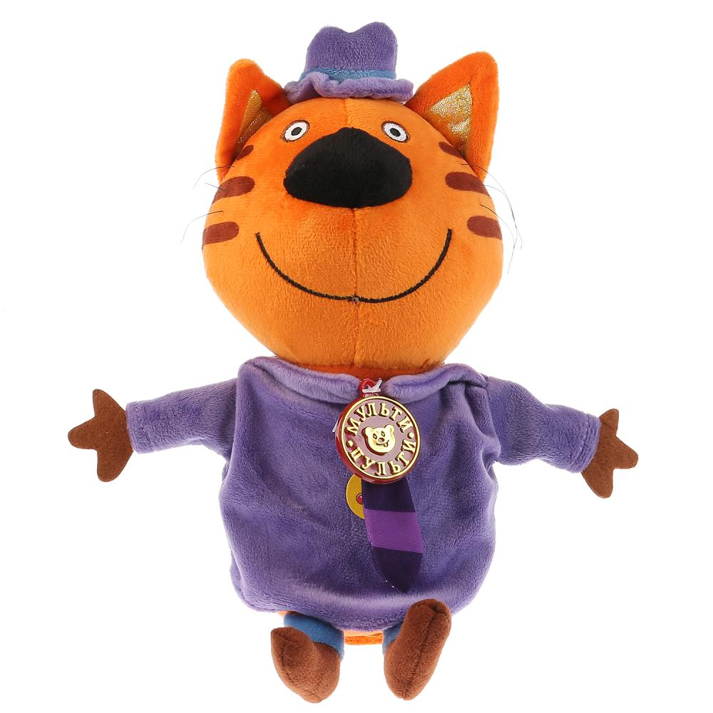 Озвученная мягкая игрушка Три кота – Папа Кот, 20 см фото