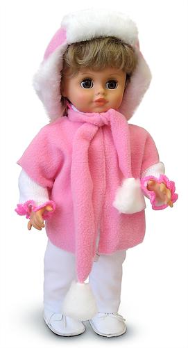 Кукла озвученная - Инна 31 в зимнем наряде, 43 смРусские куклы фабрики Весна<br>Кукла озвученная - Инна 31 в зимнем наряде, 43 см<br>