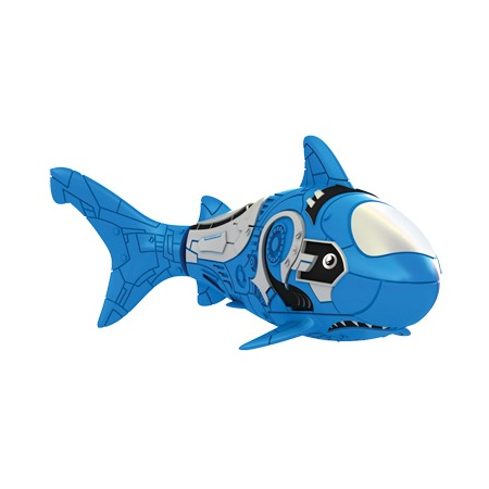 Голубая акула РобоРыбка - РобоЧЕРЕПАШКИ, робоРЫБКИ, артикул: 23516