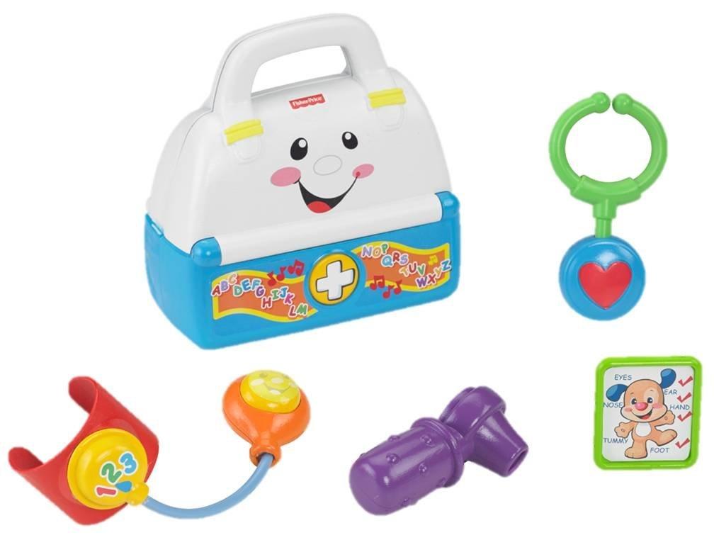 Музыкальная аптечка «Смейся и учись»Развивающие игрушки Fisher-Price<br>Музыкальная аптечка «Смейся и учись»<br>