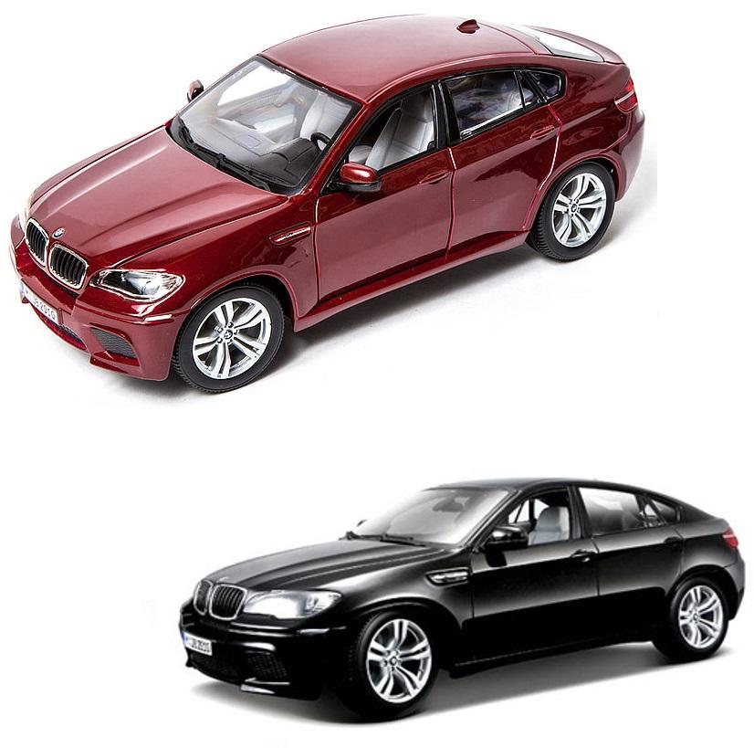 Коллекционная металлическая машинка Bburago BMW X6 M масштаб 1: 18
