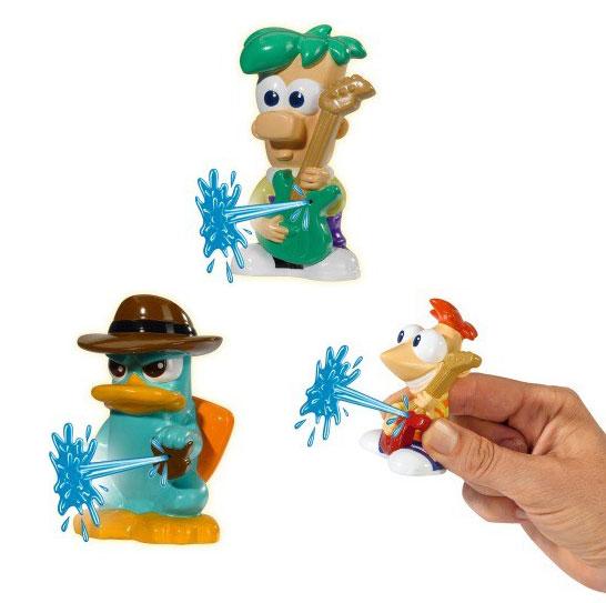 Купить со скидкой Фигурки-брызгалки – Phineas&Ferb