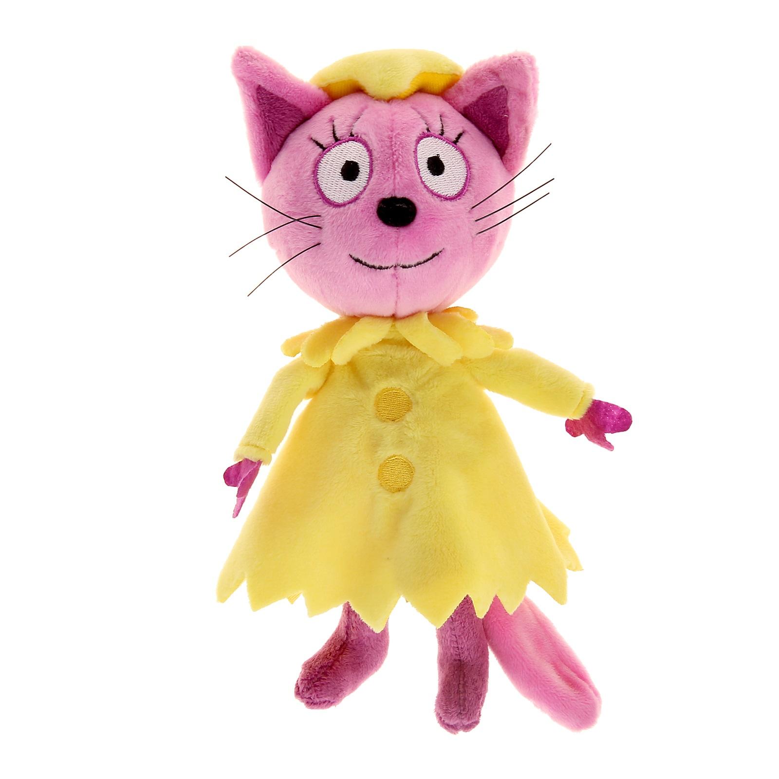 Купить Мягкая игрушка без чипа – Лапочка из серии Три Кота, 13 см., Мульти-Пульти