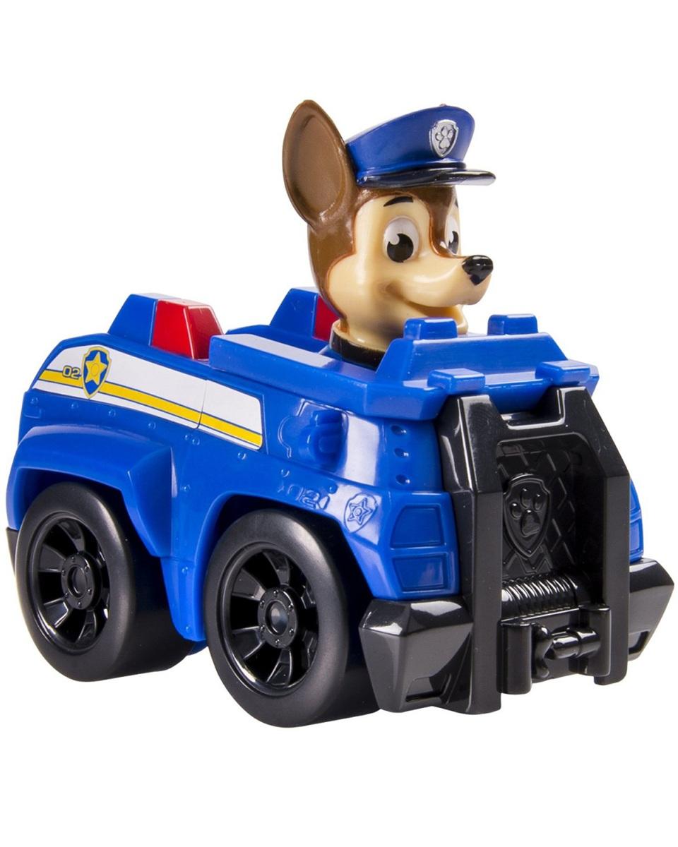 Paw Patrol Спасательное транспортное средство с щенком ЧейзомЩенячий патруль (Paw Patrol)<br>Paw Patrol Спасательное транспортное средство с щенком Чейзом<br>