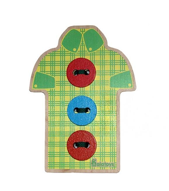 Шнуровка - Рубашка с пуговицамиШнуровка<br>Шнуровка - Рубашка с пуговицами<br>