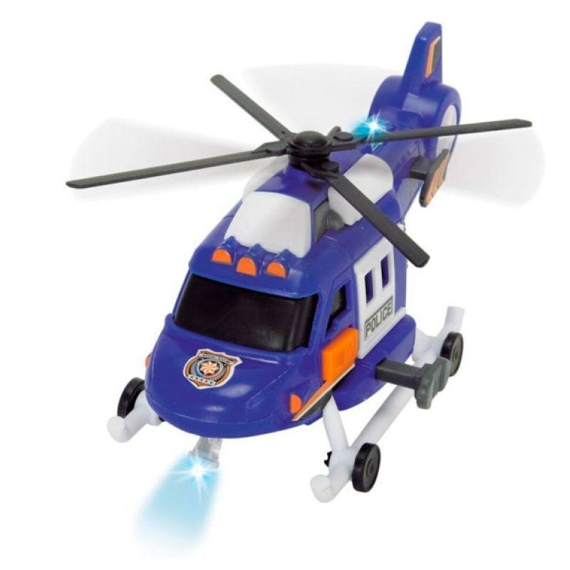 Спасательный вертолет, 18 см, свет, звук