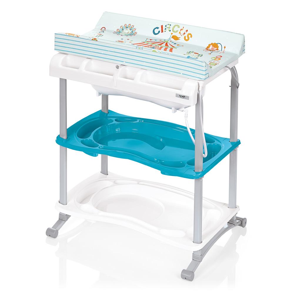 Стол для пеленания Babidoo, голубойстолы для пеленания<br>Стол для пеленания Babidoo, голубой<br>
